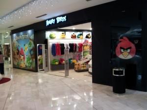 Tienda Angry Birds en Madrid